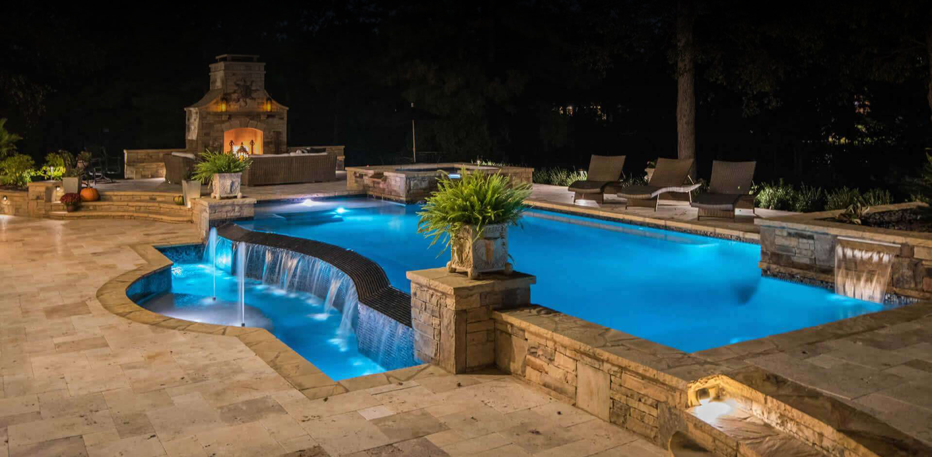 Palazzo Pool Spa Pool Construction Service Renovation Design